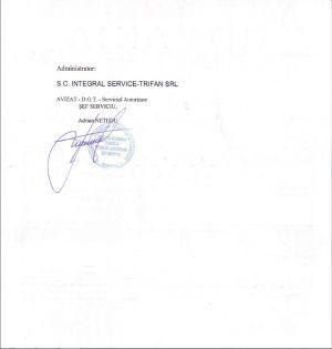Certificat de Clasificare Motel Sheriff (1)